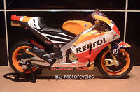 1:12 #93 MARC MARQUEZ 2015 FACTORY RED BULL REPSOL HONDA DIECAST MODEL RCV213