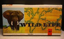 'WILD LIFE' Board Game, SPEARS GAMES, 1965 1st English Edition (For Parts)