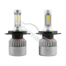 1000W H4 9003 CREE COB LED Conversion Headlight Kit Hghi/Low Beam 6000K White