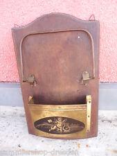 24190 antike Jugendstil Briefhalter Zeitungsständer Zeitungshalter Putten 40x25