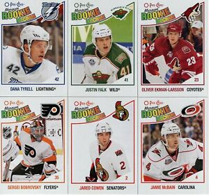 2010-11 O-Pee-Chee ROOKIE CARDS  #501--613   ***YOU PICK***