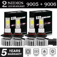 LED Headlight 9005 9006 For Toyota Corolla 2001-2013 High & Low Beam Bulbs Combo