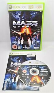Mass Effect Video Game for Microsoft Xbox 360 PAL TESTED