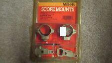 Millett Scope Mounts - Savage 110 - Turn-In Style - Two-Piece Combo   (G 12)