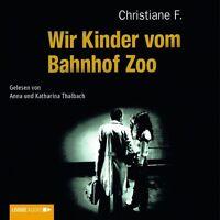 WIR KINDER VOM BAHNHOF ZOO 6 CD HÖRBUCH NEU