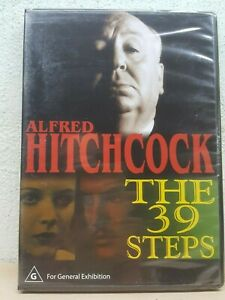 ALFRED HITCHCOCK THE 39 STEPS DVD New All Region PAL 1935 B&W - BRAND NEW