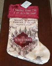 Harry Potter: MARAUDERS MAP CHRISTMAS STOCKING - New and Sealed! RARE