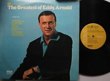 Country 2-Disc Lp Eddy Arnold The Greatest Of On Rca