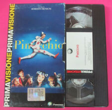 VHS film PINOCCHIO Roberto Benigni PRIMA VISIONE PANORAMA (F107) no dvd