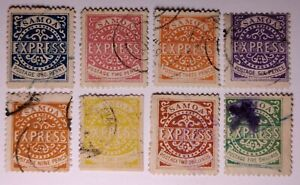 SAMOA 1877 EXPRESS Set.  (€1500 min for genuine). Sold as reprints/forgeries