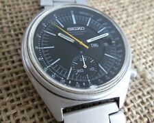 Seiko 6139-7070 Chronograph Vintage Mechanical Automatic Men's Watch 6139B cal.