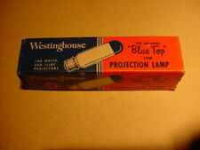 Vintage Westinghouse Czx 500W Projector Lamp Bulb w/Box, Nos