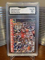 1992 Upper Deck Michael Jordan #453 Gem Mint 10