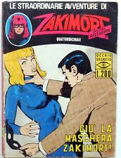 ZAKIMORT ANNO I N.14 1973 C.E.A. FUMETTO NOIR
