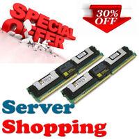 4GB kit (2x 2GB) PC2-5300F DELL POWEREDGE 1955 equiv. Kingston KVR667D2D8F5/2G