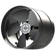 Galvanized Steel Inline Extractor Fan In Line Duct Tube Axial Ventilator aRw