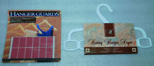 Clothes Hanger Guards Hosiery Dryer Lot 2 Nylons Space Savers Reusable Vintage