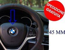 Logo Fregio Stemma Emblema Volante STERZO BMW SERIE 1 2 3 5 6 7 X 1 3 5 6 45 mm