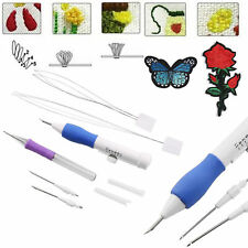 Plastic DIY Embroidery Magic Pen Set Clothing Punch Needle Sewing Accessories