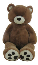 "76"" Inches Giant Teddy Bear Dark Brown Huge Stuffed Toy Birthday Gift"