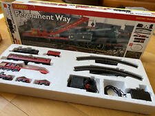 Hornby R1045 Permanent Way Steam Train Set Boxed