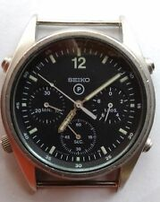 Seiko Gen-1 1986 British Military RAF Pilots Chronograph Watch 7A28 - Project