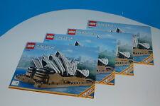 Lego Creator EXPERT: Sydney Opera House 10234, Instruction Manuals ONLY, RETIRED