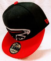 Atlanta Falcons «Black-Red Brim» New Era 9Fifty Snapback