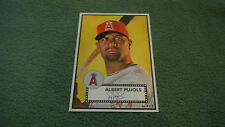 2015 Topps Limited Gold Edition 10x14 Albert Pujols 1952 Tribute Wall Art 1/1