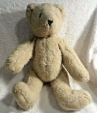 Vintage Vermont Teddy Bear  Jointed 13 Inch  Very Good