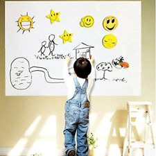 Wall Paper Sticker Thick Whiteboard Sticker Chalkboard Contact Paper 17*78 INCH