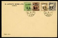 China 1946 Manchukuo Local OPs on Commemorative Cover O896