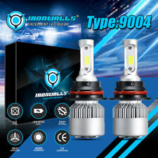 9004 LED Headlight Bulbs Kit for Dodge Ram 1500 2500 3500 Van HI-LO Beam Lamps
