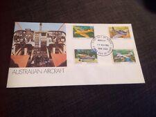 1980 Australian Aircraft Flight Cover Unaddressed Fdc Ap