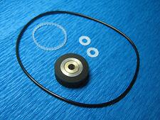 Set Revox B77 MKII Andruckrolle,Zahnriemen und Antriebsriemen und Teflonscheiben