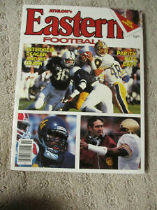 Athlon Sports 1985 Eastern Conference College Football Edition *