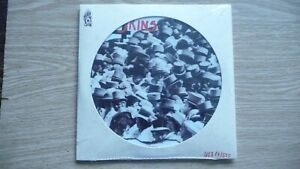 """4-SKINS One law for them 7"""", Picture Disc,Numbered.UK Oi!,Skinhead,Cocksparrer"""