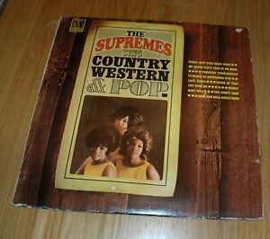 Supremes country western & pop
