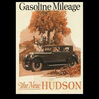 Vintage 1926 Hudson Super Six Car Ad PHOTO Classic Advertisement Art Print Pic