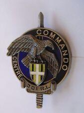 Insigne Métal Brevet CEC 30ème RI Commando Entrainement CORSE