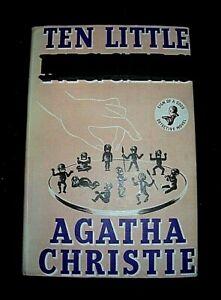TEN LITTLE..... AGATHA CHRISTIE. HARDBACK in DUST JACKET COLLINS CRIME CLUB 1964
