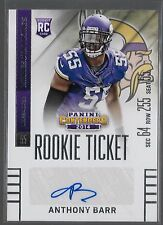 2014 Panini Contenders Rookie Ticket Anthony Barr Auto Rc
