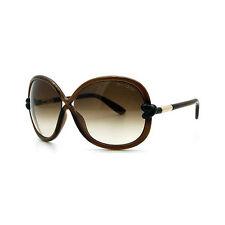 TOM FORD Damen Sonnenbrille SONJA FT0185S 48F Braun/ Braun verlauf NEU mit Etui