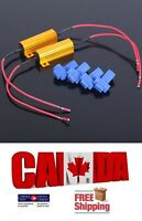 2pcs 50W 6ohm Load Resistor Line Fix LED Bulb Fast Hyper Flash Turn Signal Blink