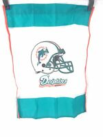 MIAMI DOLPHINS VERTICAL BANNER NFL OUTDOOR FLAG Football Classic Helmet