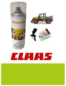 Claas Telehandler Tractor Green Paint High Endurance Enamel Paint 400ml Aerosol