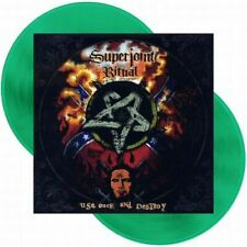 SUPERJOINT RITUAL - USE ONCE AND DESTROY- GREEN - RSD - 2 LP
