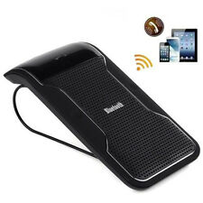 3.0 Smart Wireless Bluetooth Handsfree Speaker Car Kit Sun Visor Clip Drive