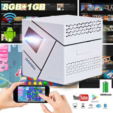 Smart Cube P1 Mini Micro DLP Projector Android Wireless WiFi Home Theater M3 USA
