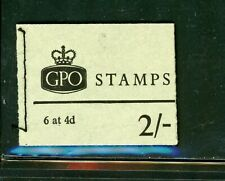 Great Britain Booklet Stamps - 6 Stamps - 4D Value - Mint